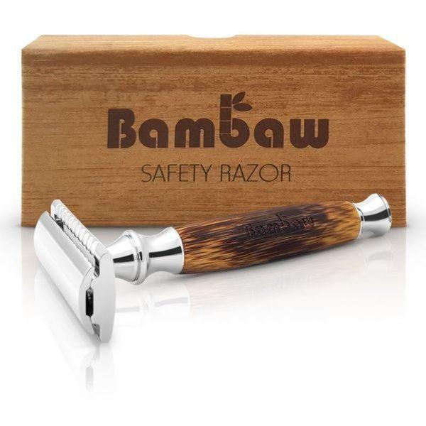 Bambaw bambusz nyelű borotva 03