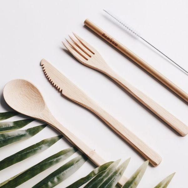Bambaw evőeszközszett bambuszból 02
