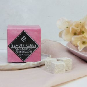 BeautyKubes vegán samponkocka normál és száraz hajra 04
