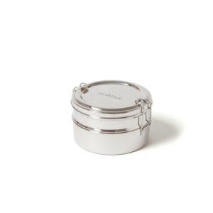 Ecobrotbox Tiffin Double ételtároló rozsdamentes acélból