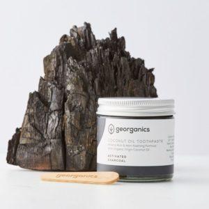 Georganics natúrfogkrém aktívszénnel pálcikával