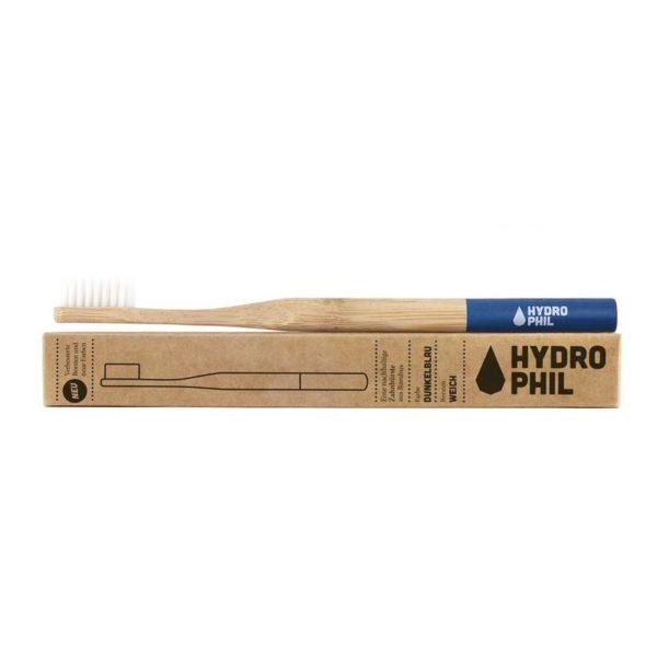 Hydrophil bambuszfogkefe extra puha sörtével kék