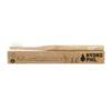 Hydrophil bambuszfogkefe közepesen puha sörtével natúr