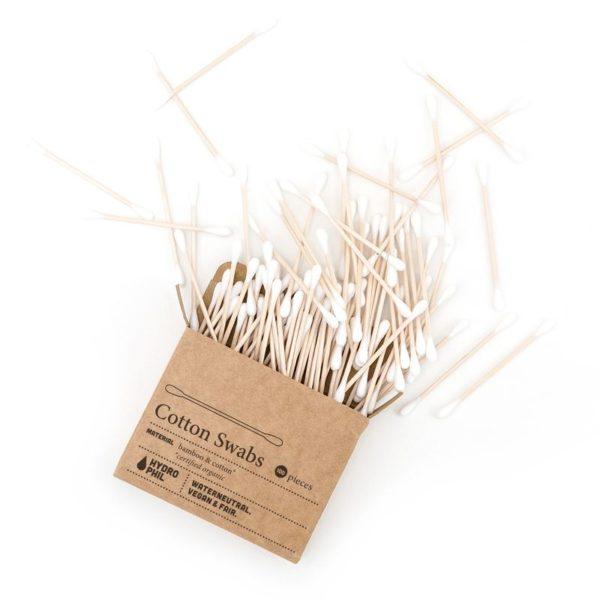 Hydrophil lebomló eldobható fültisztító bambuszból