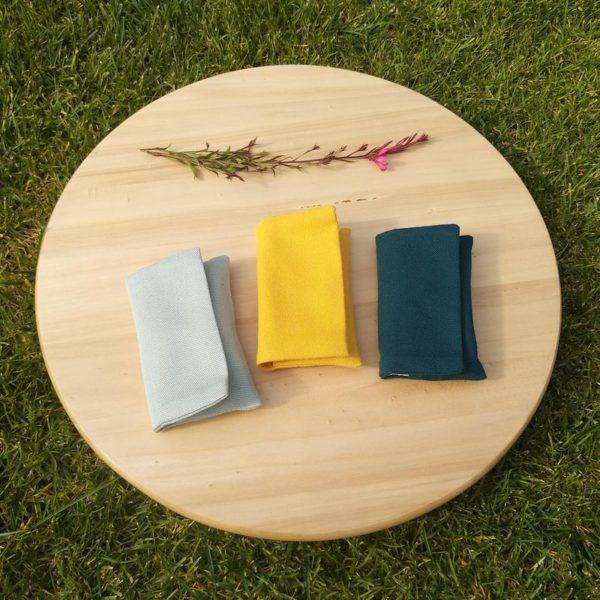 Julka zsebkendőtartó három féle színben
