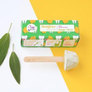 Lamazuna pálcikás fogkrém dobozzal citrom ízű
