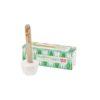Lamazuna pálcikás fogkrém dobozzal menta ízű állítva