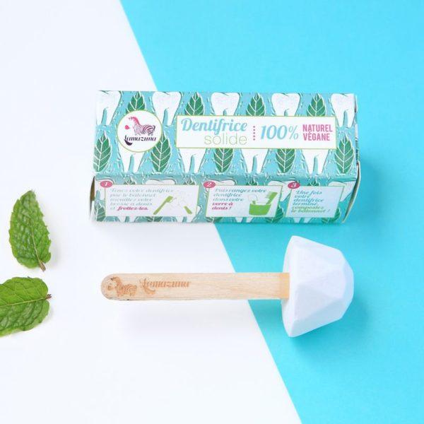Lamazuna pálcikás fogkrém dobozzal menta ízű