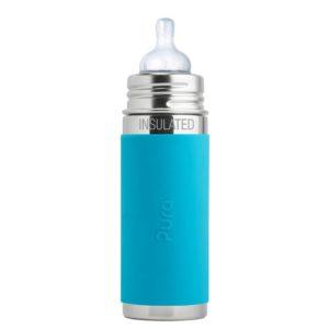 Pura termokulacs cumival 260 ml-es kék színű