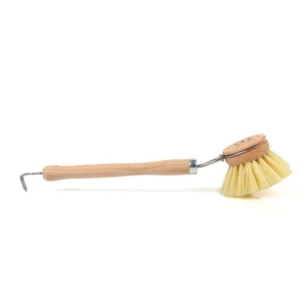 Redecker cserélhető fejű fa mosogatókefe oldalnézet